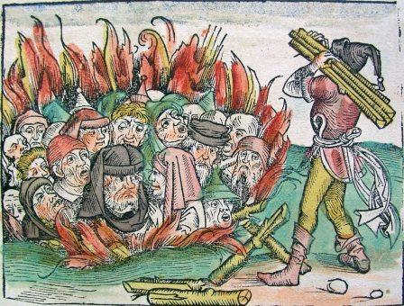 Burning-Jews